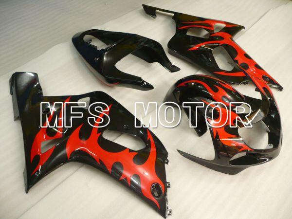 Suzuki GSXR600 2001-2003 Injection ABS Fairing - Factory Style - Black - MFS2138