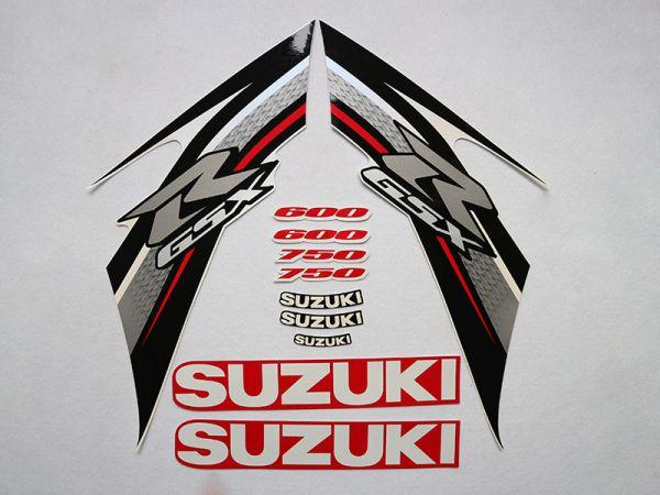 Motorcycle Fairings Decal / Sticker For Suzuki GSXR600-750 2011-2013