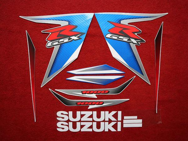 Motorcycle Fairings Decal / Sticker For Suzuki GSXR001000 2007-2008