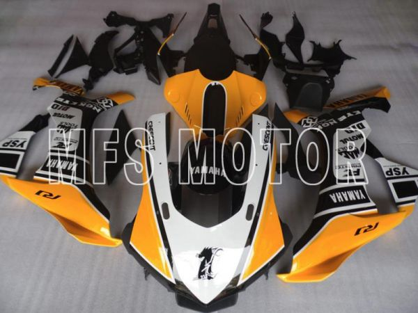Yamaha YZF-R1 2015-2020 Injection ABS Fairing - Others - Yellow Black White - MFS8420