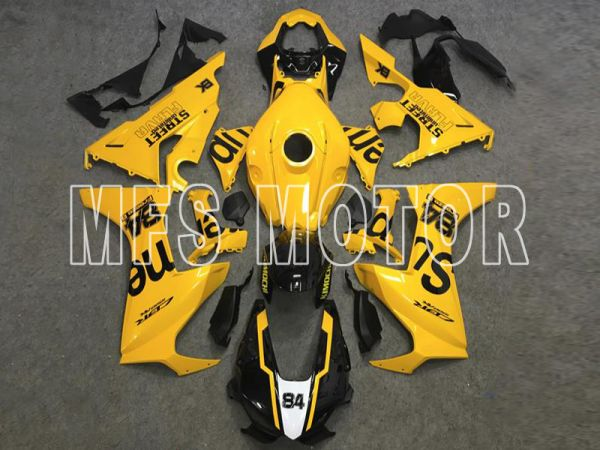 Honda CBR1000RR 2017-2019 Injection ABS Fairing - Others - Yellow Black - MFS8376