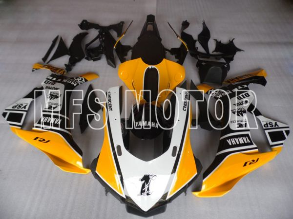 Yamaha YZF-R1 2015-2020 Injection ABS Fairing - Others - Yellow Black White - MFS8435