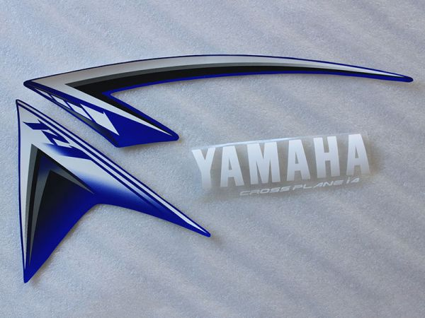 Motorcycle Fairings Decal / Sticker For Yamaha YZF1000R 2009-2012