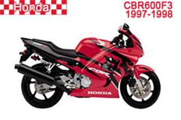 Honda CBR600F Fairings CBR600F3 1997-1998