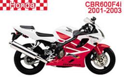 Honda CBR600F Fairings CBR600F4i 2001-2003