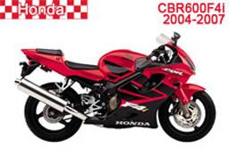 Honda CBR600F Fairings CBR600F4i 2004-2007