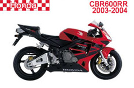 Honda CBR600RR Fairings 2003-2004