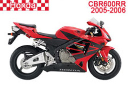 Honda CBR600RR Fairings 2005-2006