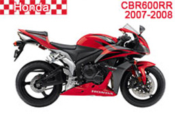 Honda CBR600RR Fairings 2007-2008