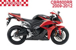 Honda CBR600RR Fairings 2009-2012
