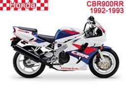 Honda CBR900RR Fairings (893cc) SC28 1992-1993