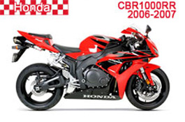 Honda CBR1000RR Fairings 2006-2007