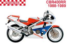 Honda CBR400RR Fairings NC23 1988-1989