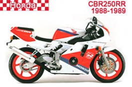 Honda CBR250RR Fairings MC19 1988-1989