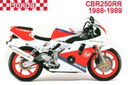 Honda CBR250RR Fairings MC19 1988-1989