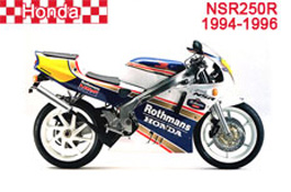 Honda NSR250R Fairings MC21 1990-1993