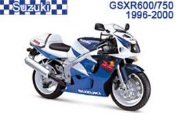 Suzuki GSX-R600 / GSX-R750 Fairings GSXR600 97-00 / GSXR750 96-99