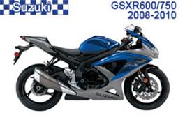 Suzuki GSX-R600 / GSX-R750 Fairings GSXR600 08-10 / GSXR750 08-10
