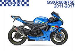 Suzuki GSX-R600 / GSX-R750 Fairings GSXR600 11-17 /  GSXR750 11-17