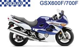 GSX 600F/750F (Katana)