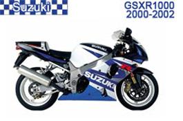 Suzuki GSXR 1000 Fairings 2000-2002