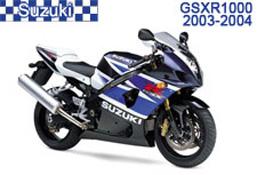Suzuki GSXR 1000 Fairings 2003-2004
