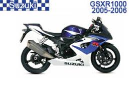 Suzuki GSXR 1000 Fairings 2005-2006