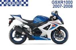Suzuki GSXR 1000 Fairings 2007-2008