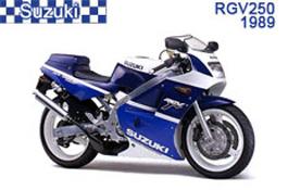 Suzuki RGV250 Fairings VJ21