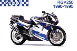 Suzuki RGV250 Fairings VJ22
