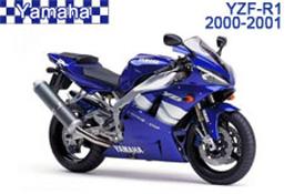 Yamaha YZF-R1 Fairings 2000-2001