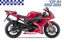 Yamaha YZF-R1 Fairings 2002-2003