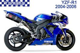 Yamaha YZF-R1 Fairings 2004-2006