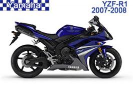 Yamaha YZF-R1 Fairings 2007-2008