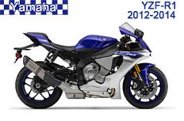 Yamaha YZF-R1 Fairings 2012-2014