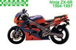 Kawasaki Ninja ZX-6R Fairings 1994-1997