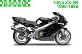 Kawasaki Ninja ZX-6R Fairings 1998-1999