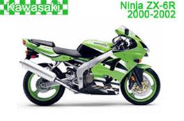 Kawasaki Ninja ZX-6R Fairings 2000-2002