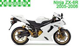 Kawasaki Ninja ZX-6R Fairings 2005-2006