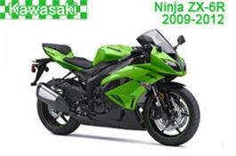 Kawasaki Ninja ZX-6R Fairings 2009-2012