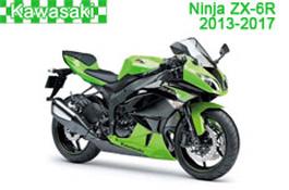 Kawasaki Ninja ZX-6R Fairings 2013-2017