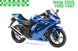 Kawasaki Ninja 250R Fairings (EX250-E/F/G/H) 1990-1997