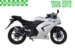 Kawasaki Ninja 250R Fairings (EX250-J) 2008–2012