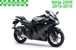 Kawasaki Ninja 250R Fairings (EX250-L/EX250-M) 2013-2015