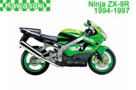 Kawasaki Ninja ZX-9R Fairings 1994-1997