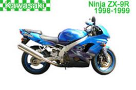 Kawasaki Ninja ZX-9R Fairings 1998-1999