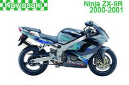 Kawasaki Ninja ZX-9R Fairings 2000-2001