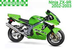 Kawasaki Ninja ZX-9R Fairings 2002-2003