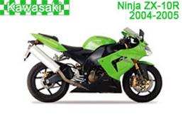 Kawasaki Ninja ZX-10R (ZX1000E) Fairings 2004-2005