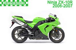 Kawasaki Ninja ZX-10R (ZX1000E) Fairings 2006-2007